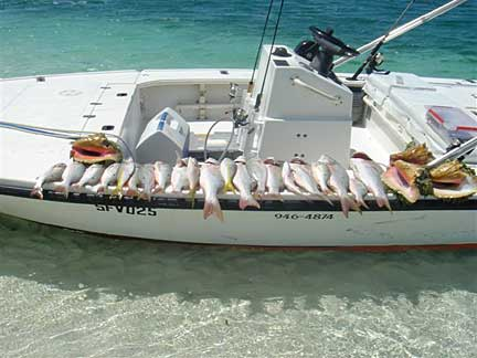 Bonefishing in turk caicos with bonefish unlimited for Turks and caicos fishing charters