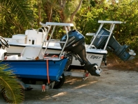 Turks and Caicos Flats Boats